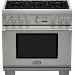 Thermador36 inch Professional Series Pro Grand Commercial Depth Liquid Propane Range PRL366JG