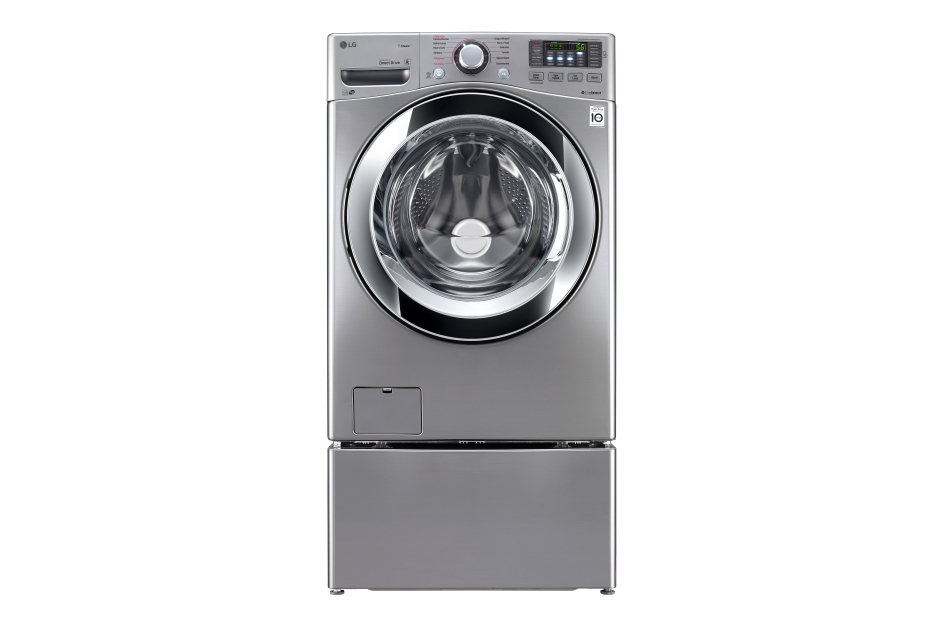 4.5 cu. ft. Ultra Large Capacity with Steam Technology  Graphite Steel