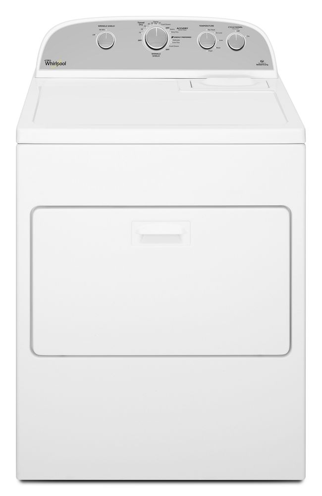 7.0 cu. ft. Top Load Electric Dryer with AccuDry Sensor Drying System