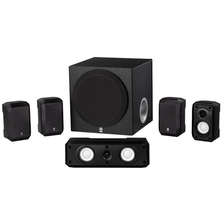 NS-SP1800BL5.1-Channel entry class speaker package