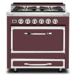 VikingViking 36&quot Dual Fuel Convection Range