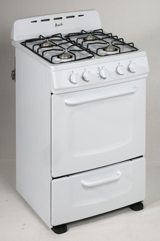 "24"" Freestanding Gas Range