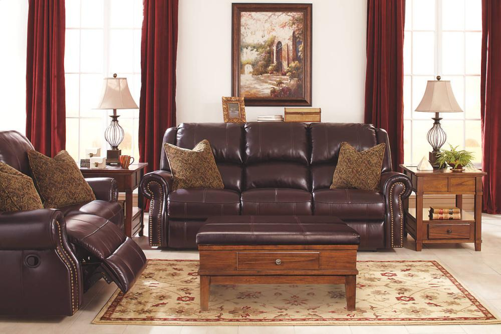 Attractive Walworth   Blackcherry 6 Piece Living Room Set Hidden Part 15