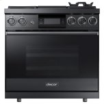 DacorDacor 36&quot - 4.8 Cu. Ft. Smart Self-Clean Steam Convection Pro Dual-Fuel Range - LP, High Altitude