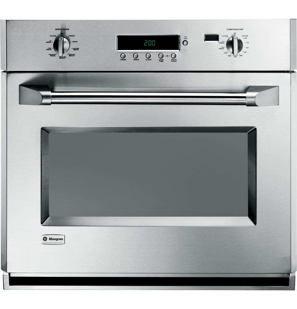Single Wall Ovens ~ Zet pmss ge monogram quot professional