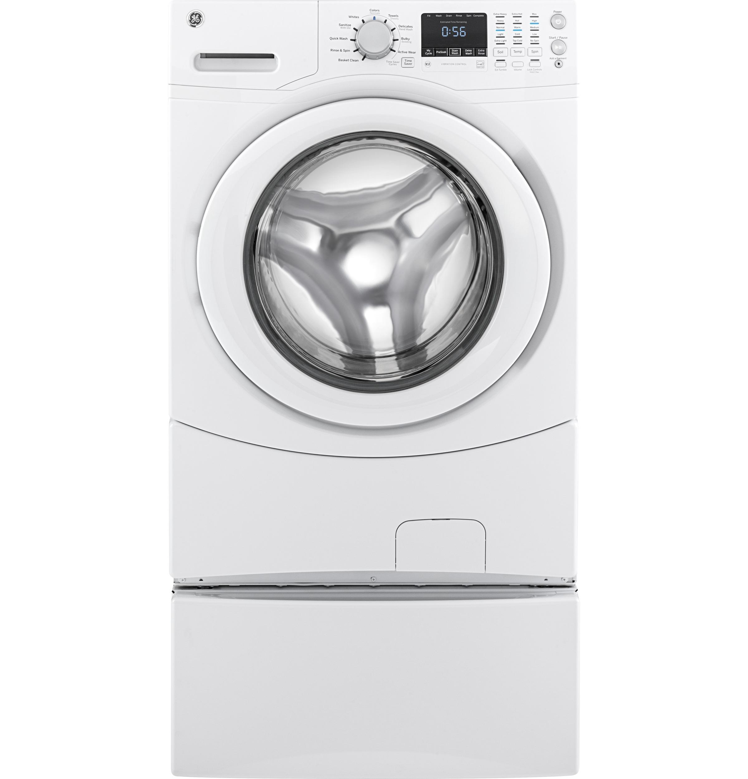 GE(R) ENERGY STAR(R) 4.3 DOE Cu. Ft. Capacity Frontload Washer