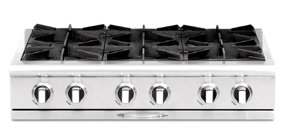 capital cooking 36 inch pro rangetop