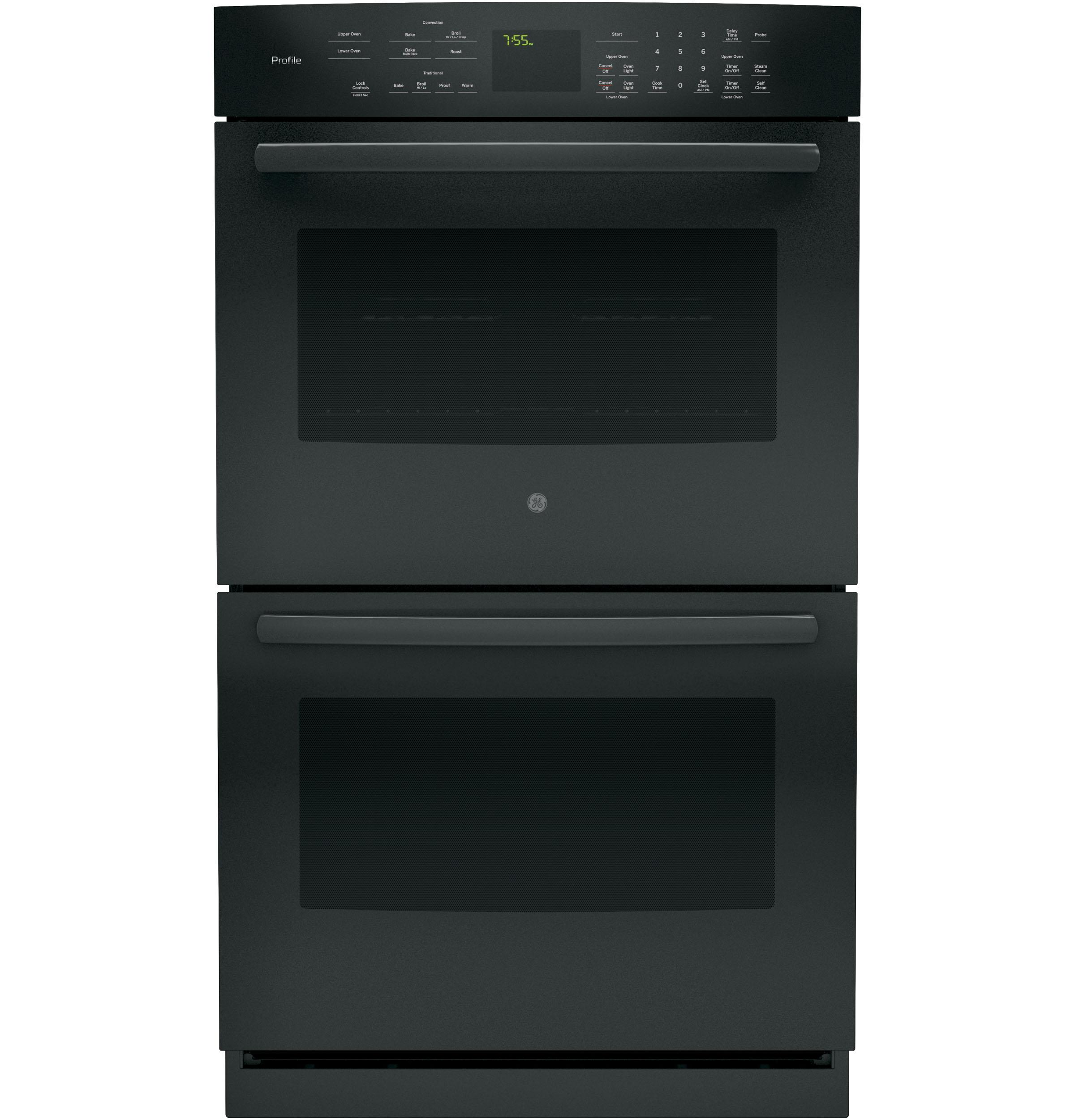 GE APPLIANCES PT7550DFBB  Black on ELECTRIC RANGESDOUBLE WALL ELECTRIC OVEN