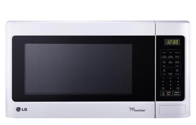 Countertop Dishwasher Lg : LCRT1513SW LG Appliances 1.5 Cu. Ft. 1100W Countertop Microwave Smooth ...