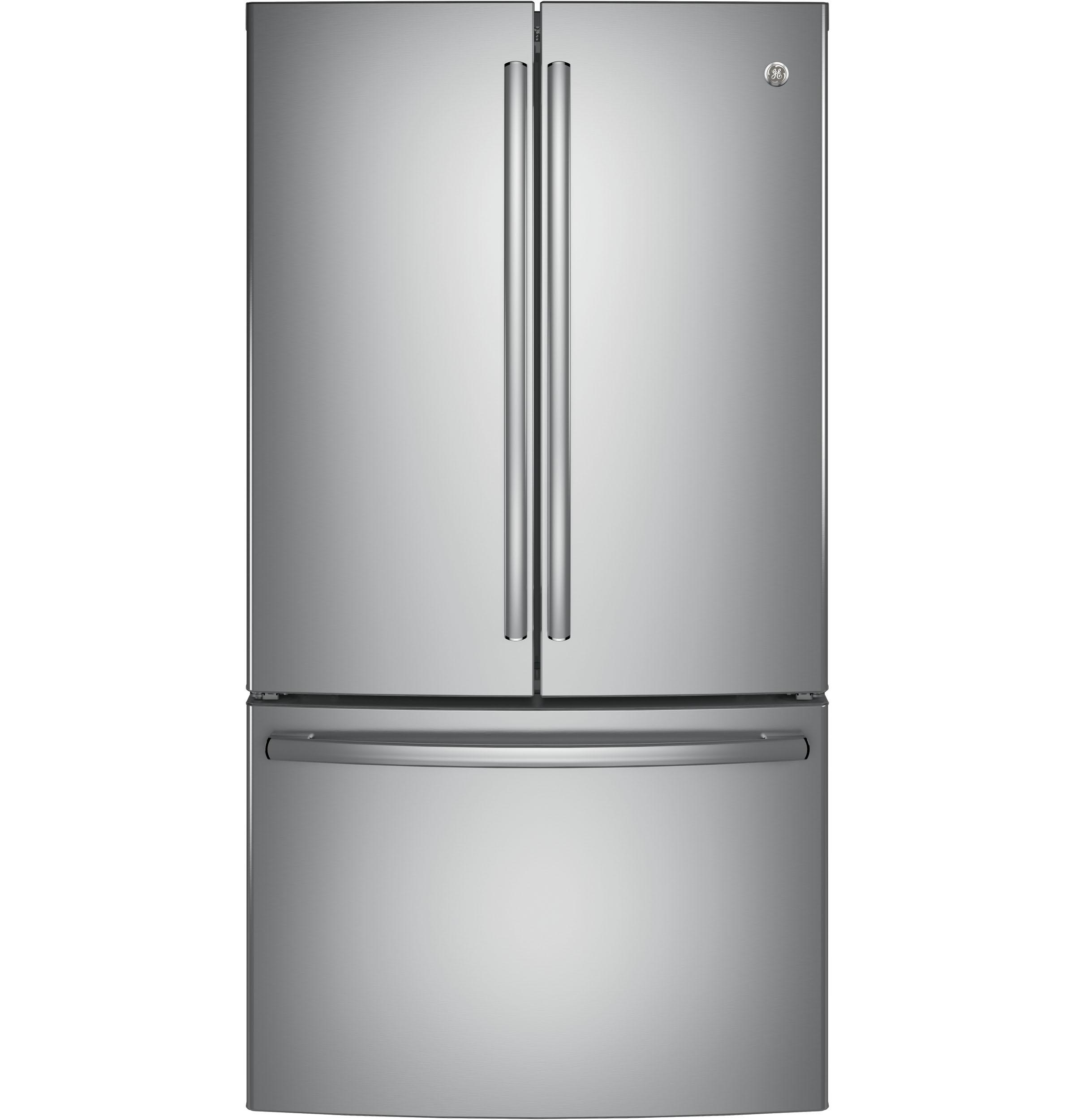 GE(R) ENERGY STAR(R) 28.5 Cu. Ft. French-Door Refrigerator Stainless Steel