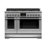 Fisher PaykelFisher Paykel Dual Fuel Range, 48&quot, 8 Burners, Self-cleaning, LPG