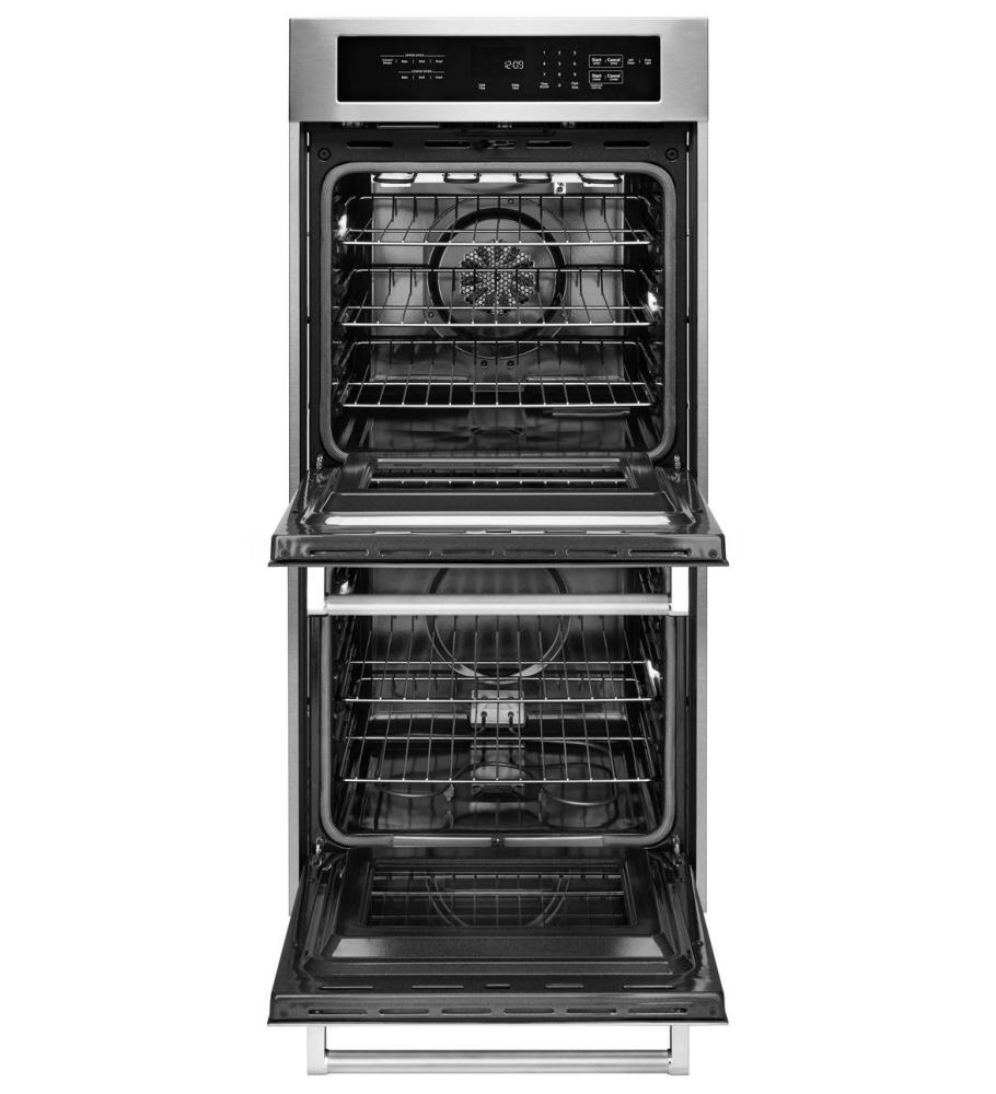 kitchenaid ovens double wall ovens stainless steel kodc304ess