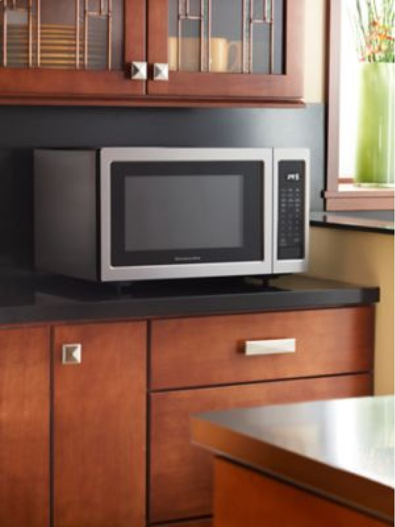 Countertop Oven Wattage : ... Weymouth, MA - 1200-Watt Countertop Microwave Oven - Stainless Steel