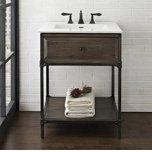 "FAIRMONT DESIGNSToledo 24"" Open Shelf Vanity"