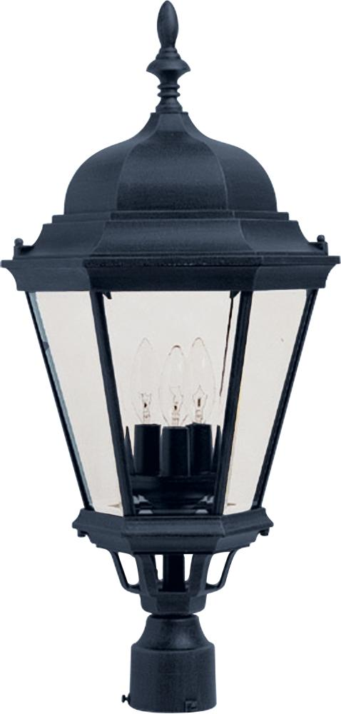 Westlake Cast 3-Light Outdoor Pole/Post Lantern