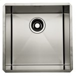 RohlBrushed Stainless Steel ROHL Single Bowl Stainless Steel Kitchen or Bar/Food Prep Sink