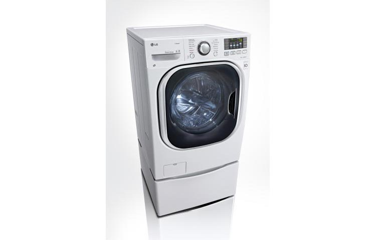 Front Load Washer / Dryer Combo  White