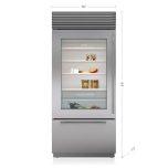 Sub ZeroSub Zero 36&quot Classic Over-and-Under Refrigerator/Freezer with Glass Door