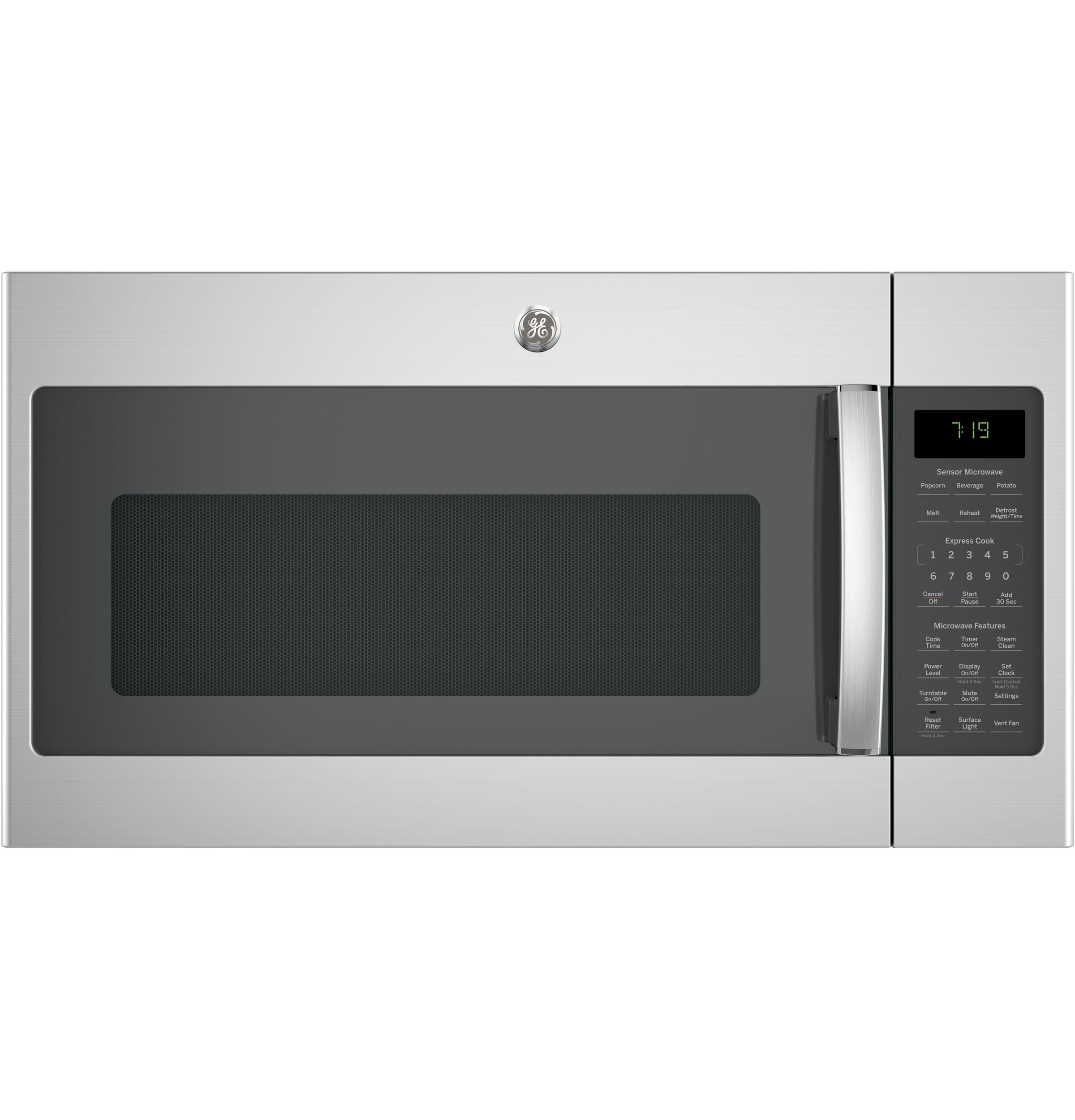 GE(R) 1.9 Cu. Ft. Over-the-Range Sensor Microwave Oven with Recirculating Venting
