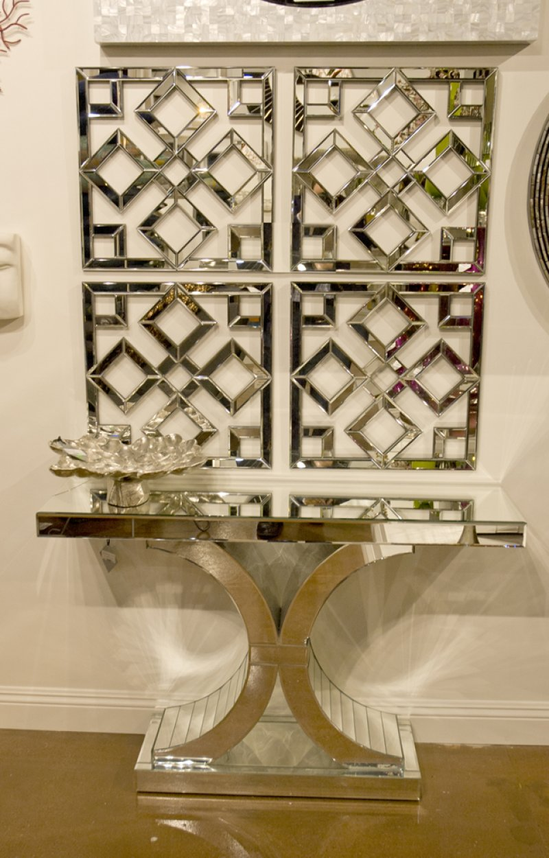 11137 in by howard elliott in oxnard ca mirrored console table additional mirrored console table w arch accents geotapseo Image collections