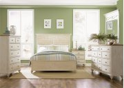 CLEARANCE  Queen Panel Bed, Dresser & Mirror, Chest, N/S Product Image