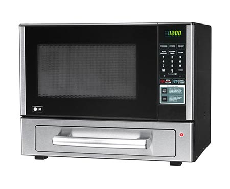 Countertop Oven Baking : LCSP1110ST LG 1.1 cu. ft. Countertop Microwave Oven with Baking Oven ...