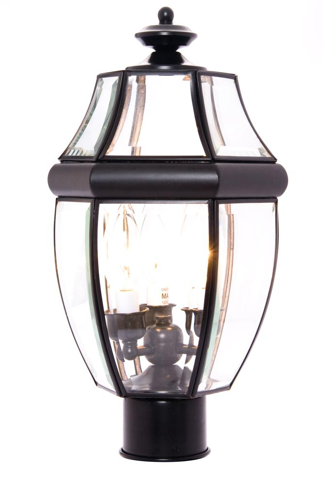 South Park 3-Light Outdoor Pole/Post Lantern