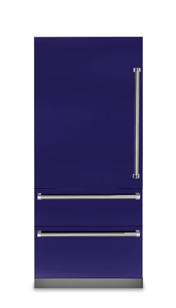 "36"" Fully Integrated Bottom-Freezer Refrigerator, Left Hinge/Right Handle