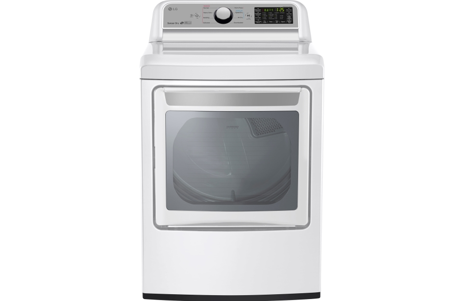 7.3 cu. ft. Super Capacity Gas Dryer with Sensor Dry Technology  White