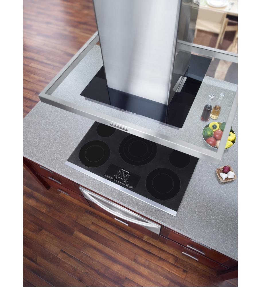 Discount Electric Cooktops ~ Kecc bss kitchenaid inch element electric