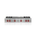 """Wolf48"""" Sealed Burner Rangetops - 4 Burners, Double Griddle"""
