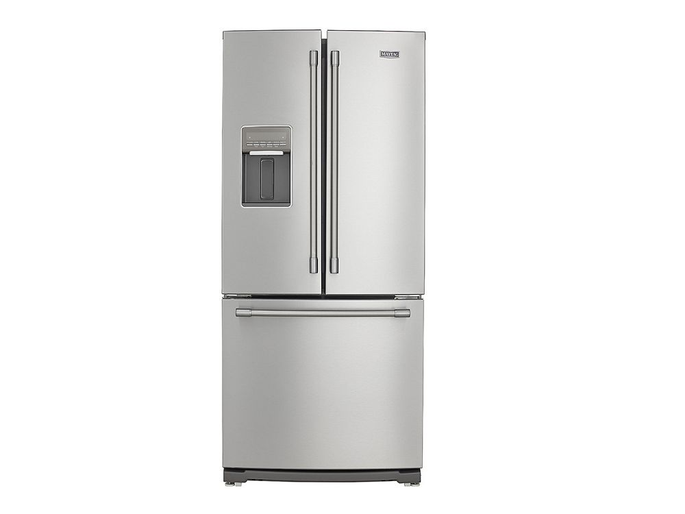 Maytag 30 inch wide french door refrigerator with for 4 ft wide french doors