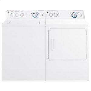 GTDP180GDWW&nbspGeneral Electric&nbspGE(R) 6.8 cu. ft. capacity Dura Drum gas dryer