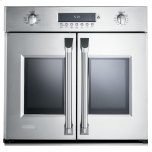 MonogramMonogram 30&quot - 5.0 Cu. Ft. Professional French-Door Electric Convection Single Wall Oven
