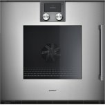 """200 series 200 series single oven Glass front in  Metallic Width 24"""" (60 cm) left-hinged"""