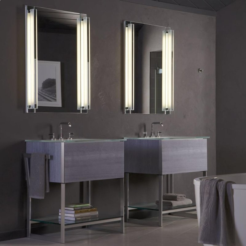 additional 24 1 4 x 34 3 4 x 21 vanity in tinted gray mirro