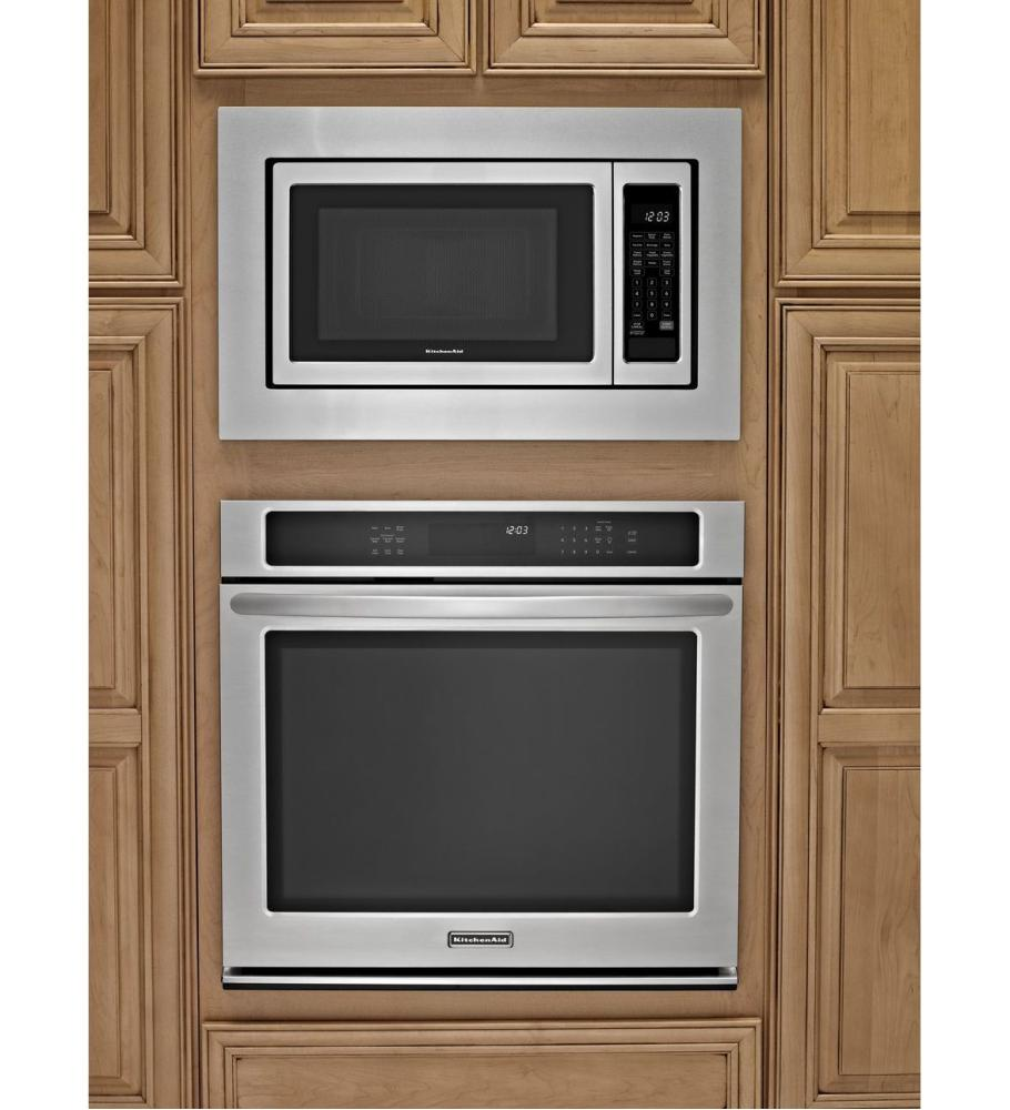 Kitchenaid Countertop Dishwasher : KCMS1655BSS Kitchenaid 1200-Watt Countertop Microwave Oven - Stainless ...