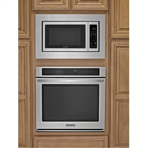 Kcms1655bss kitchenaid 1200 watt countertop microwave oven architect r series ii stainless - Kitchenaid microwave with trim kit ...