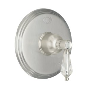 Crystal Cove Pressure Balance Trim Only - Pewter