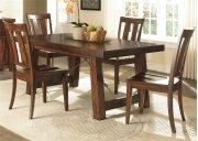 5 Piece Trestle Table Set Product Image