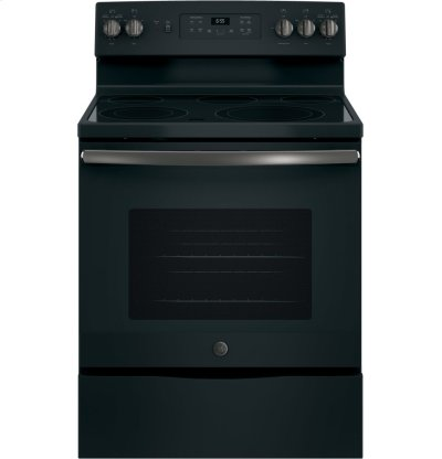 """GE® 30"""" Free-Standing Electric Convection Range Product Image"""