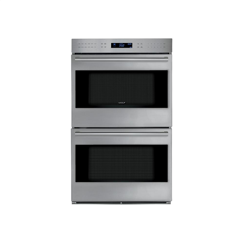Wolf Ovens Double Wall Ovens Stainless Steel Do30pesph