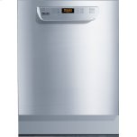 Built-under fresh water dishwasher ADA compliant, NSF/ANSI 3 certified for sanitization. Industrial use only.