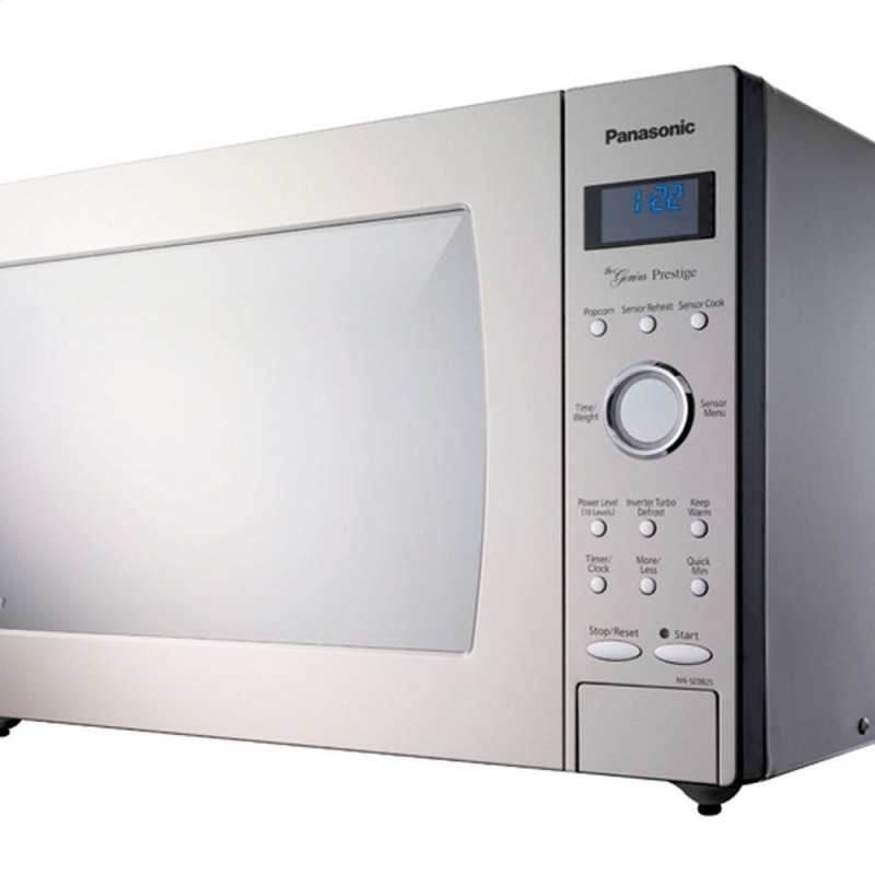 ... Countertop Microwave Oven with Inverter Technology - Stainless Steel