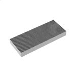 GaggenauGaggenau 1 activated charcoal filter with high efficient odor reduction due to increased surface. For air recirculation module AA 210 812.