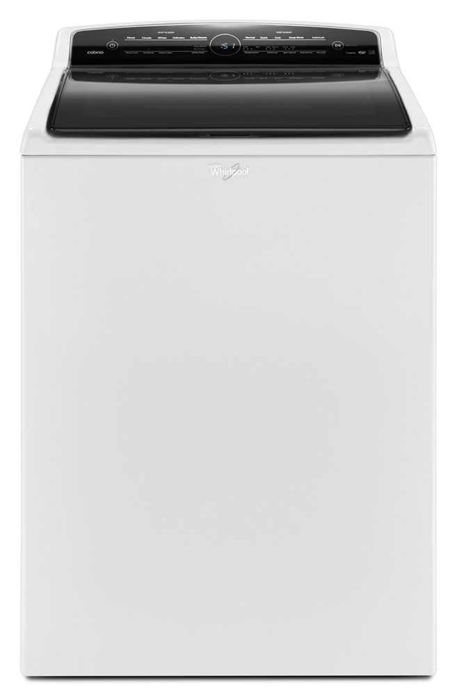 4.8 cu. ft. High-Efficiency Top Load Washer with Steam Clean Option  White