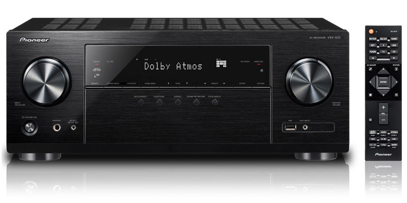 5.1-Channel Network AV Receiver AV Receiver with Ultra HD Pass-through with HDCP 2.2 (4K/60p/4:4:4)