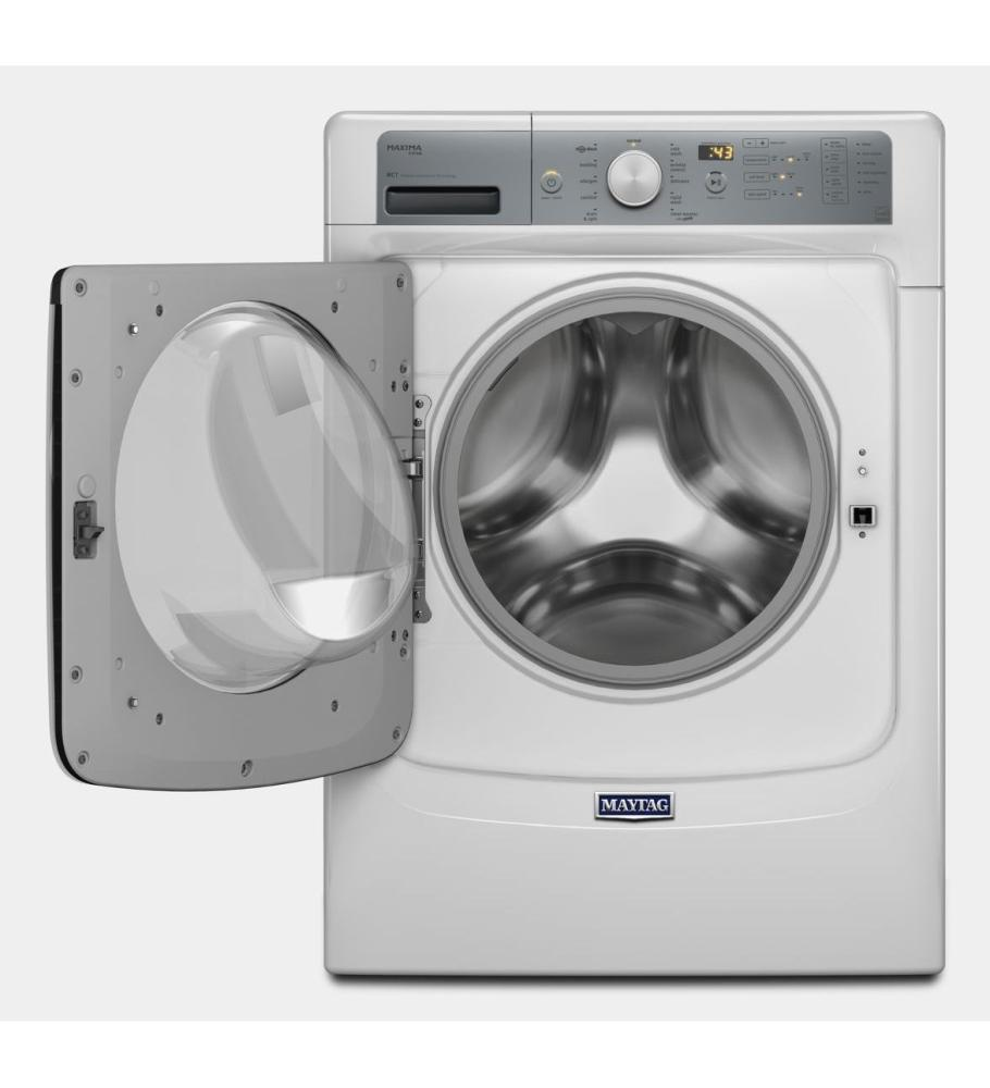 Mhw7100dw maytag maxima r front load steam washer with - Maytag whirlpool ...