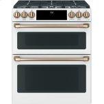 Cafe Appliances Slide-In Dual Fuel Convection Range