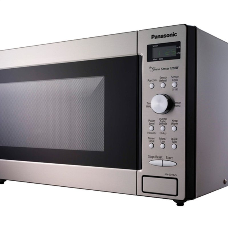 Countertop Microwave With Vent : ... Countertop Microwave Oven with Inverter Technology - Stainless Steel